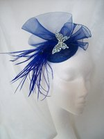 Royal Blue Sapphire Fascinators