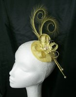*Yellow Fascinators