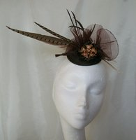 Brown Fascinators