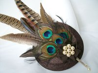 *Brown Fascinators