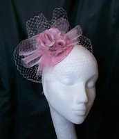*Pale Pink Fascinators