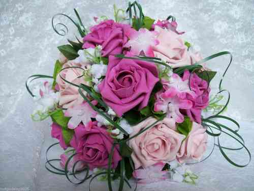 Shades of Pink Bouquet Ideas