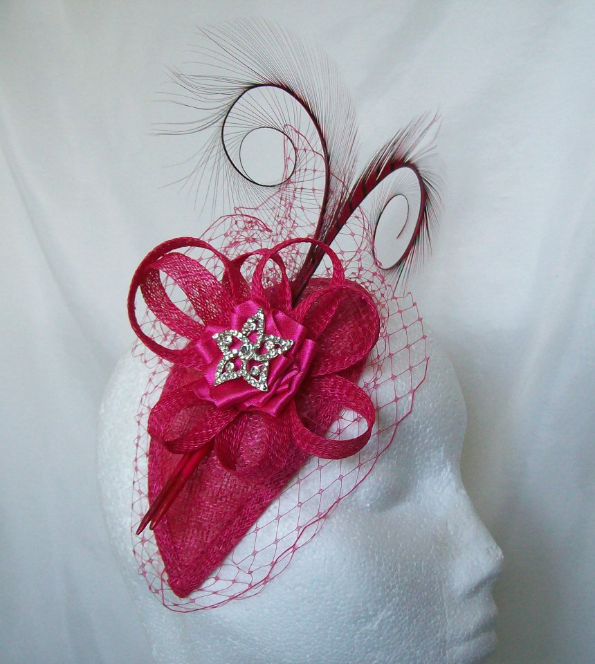 how to make a fascinator with a comb and broach