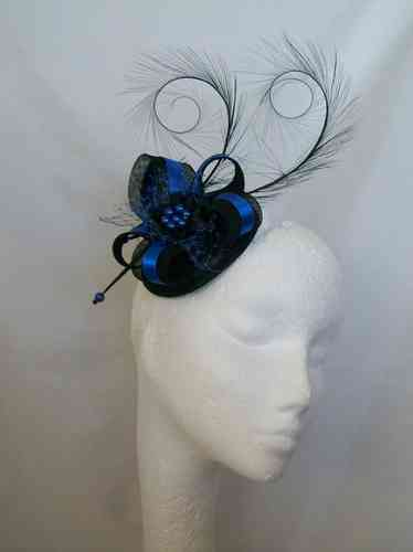 Black & Royal Blue Isabel