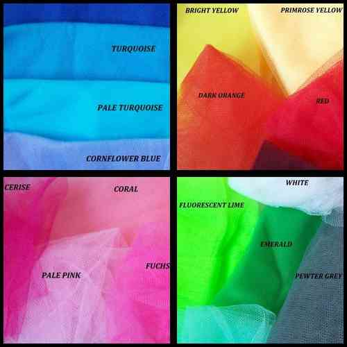 Tulle Bandeau Veil Custom Order- Many Colours Available