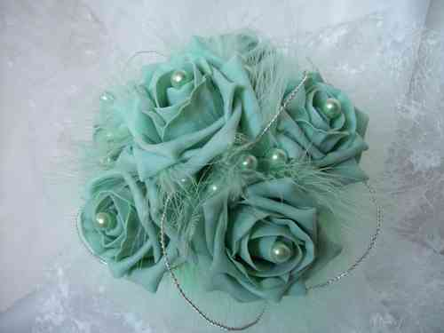 Small Vintage Rose Posy - Many Colours