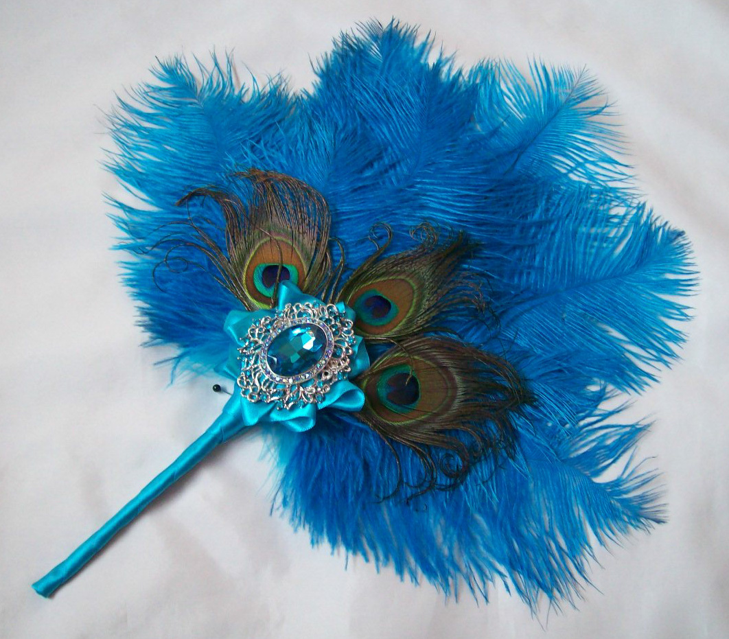 Feather Fan Gallery Ostrich Feather Wedding Fans