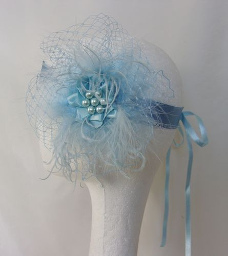 Pale Blue Betsy Flapper Band