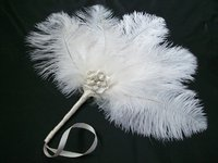 *Ostrich Feather Fans