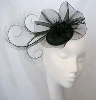 *Black Fascinators