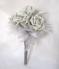 Blue and Grey Bouquet Ideas
