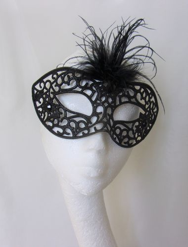 Black Filligree Mask