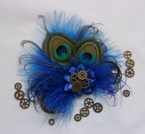 Royal Blue Steampunk Little Gem