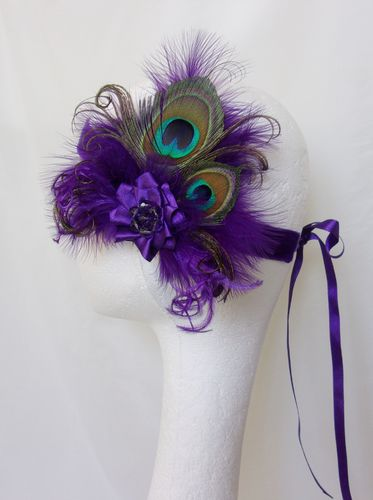Dark Purple Flapper Band