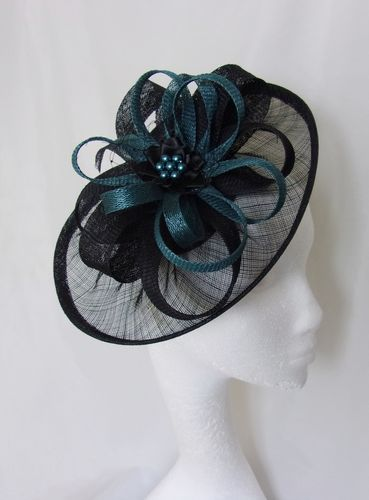 Dark Teal and Black Cecilia