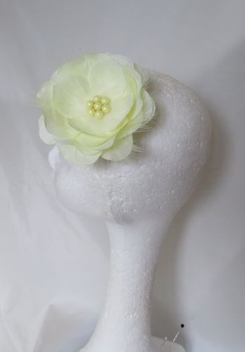 Lemon Rose Hair Clip