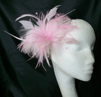 *Flower/ Feather Small Fascinators