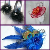 Beautiful Handcrafted Fascinators Headpieces and Hats